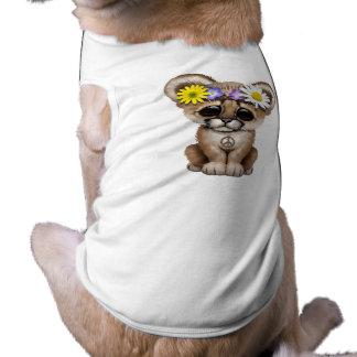 Cute Cougar Cub Hippie Shirt