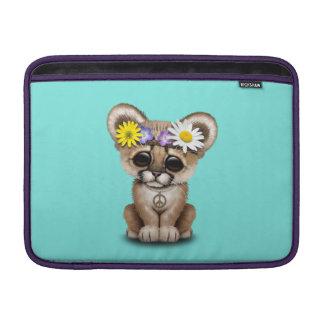 Cute Cougar Cub Hippie Sleeve For MacBook Air