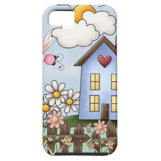 Cute Country Folk Art Picture iPhone 5 Case