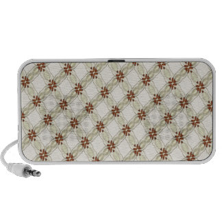 cute country pattern iPod speakers