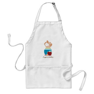 Cute Country Style Kitchen Utensils With Name Standard Apron