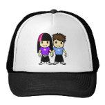 Cute Couple Cap Mesh Hats