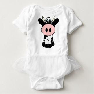 Cute Cow Baby Bodysuit