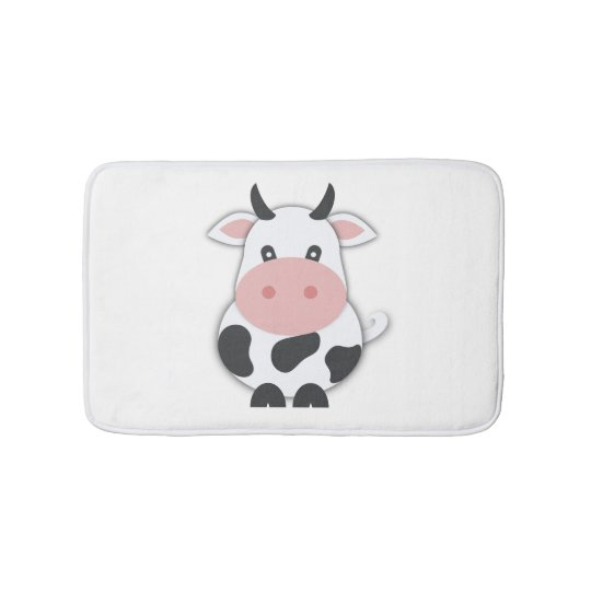 Cute Cow Bath Mat