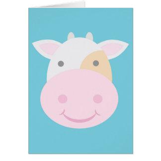 Cute Cow Card
