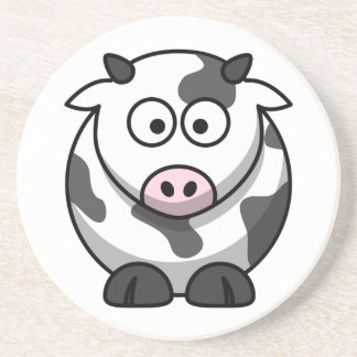 Cute Cow Coaster