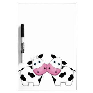Cute Cow Couple Dry Erase Board