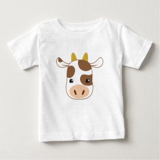cute cow face baby T-Shirt