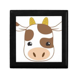 cute cow face gift box