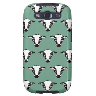 Cute Cow Face Pattern Galaxy SIII Case