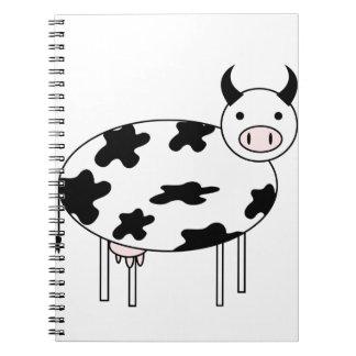 Cute Cow Notebook