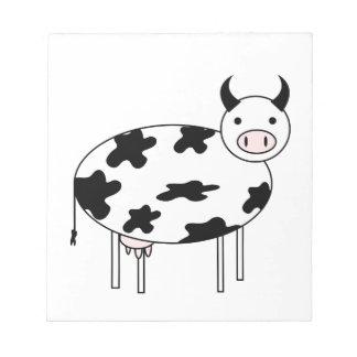 Cute Cow Notepad