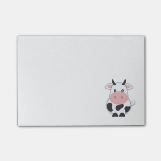 Cute Cow Post-it Notes