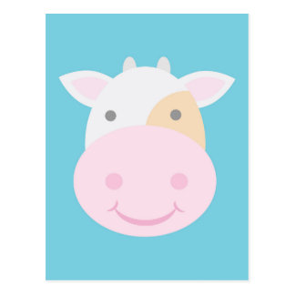 Cute Cow Postcard
