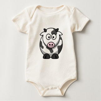 Cute Cow Two-Sided Shirt
