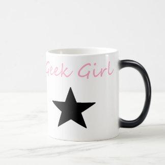 Cute Cozy geek girl mug