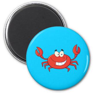 Cute Crab Cartoon Magnet