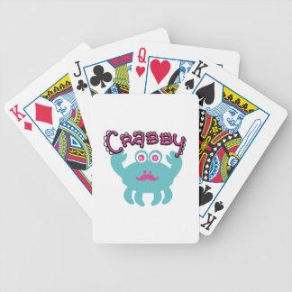 Cute Crabby Kawaii Deck Of Cards