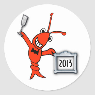Cute Crawfish / Lobster 2013 Sticker