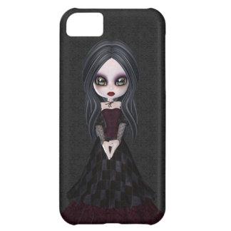 Cute & Creepy Goth Girl iPhone 5 Case