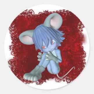 Cute Critters 09 Classic Round Sticker