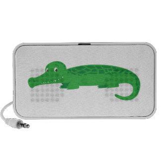 Cute Crocodile Laptop Speakers
