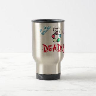 Cute. Cuddly. Deadly. Travel Mug