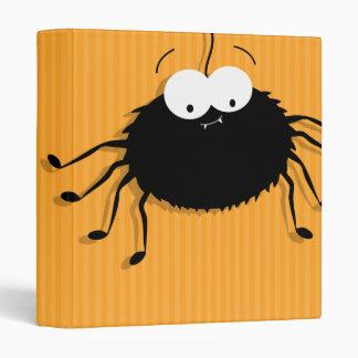 """Cute Cuddly Halloween Spiders Binder 1.0"""""""