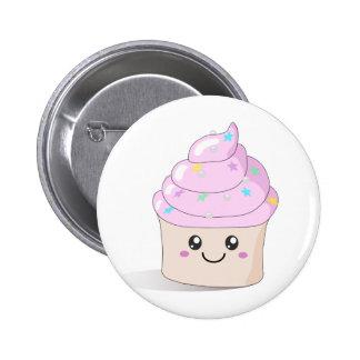 Cute Cupcake 2 Inch Round Button