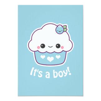 Cute Cupcake Baby Shower Invitations