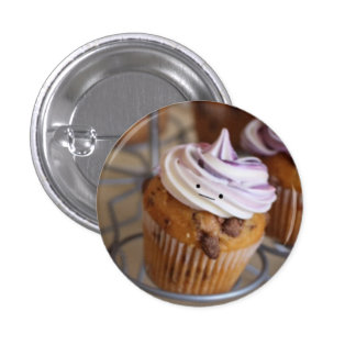Cute Cupcake badge 1 Inch Round Button