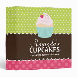 Cute Cupcake Binder