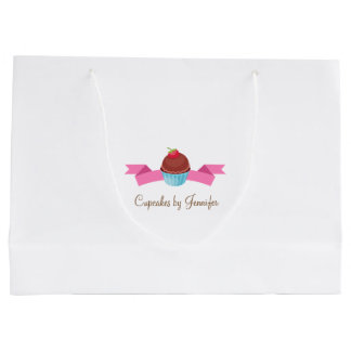 CUTE Cupcake Business Gift Bag