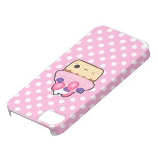 Cute cupcake Iphone mariez Coque Barely There iPhone 5