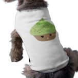 Cute Cupcake Madness Dog Tee Shirt