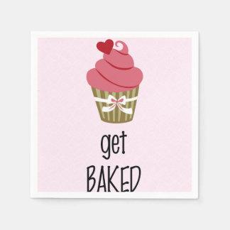Cute Cupcake Napkin