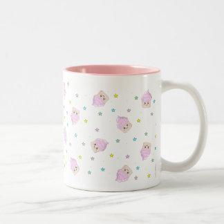 Cute cupcake pattern coffee mugs