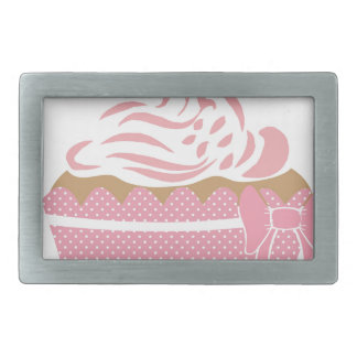 Cute Cupcake Pink Belt Buckles