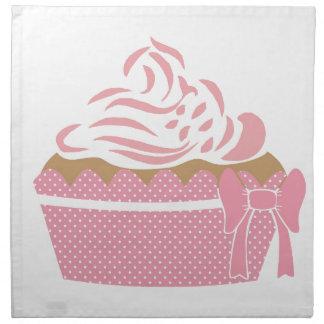 Cute Cupcake Pink Napkin