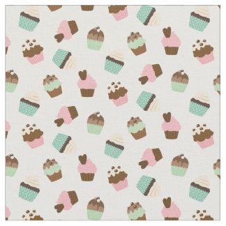 Cute Cupcakes Fabric, Nursery, Kid Room, Baby Girl Fabric
