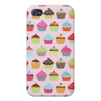 Cute Cupcakes iPhone 4 Cover