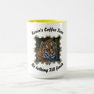 Cute Curious cool looking tiger Mug
