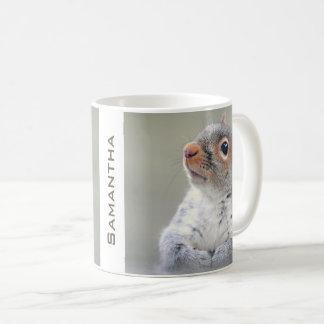 Cute Curious Squirrel Profile Photo Coffee Mug