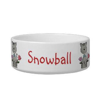 Cute Custom Cat Bowl