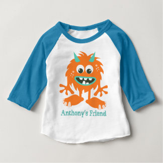 Cute custom little monster puppet baby T-Shirt