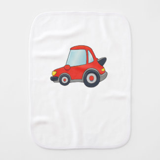 Cute Customizable Car Burp Cloth