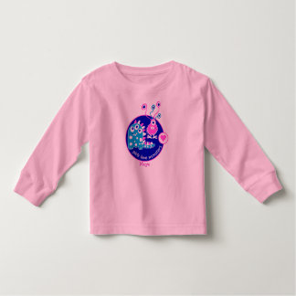 Cute Customizable Funny Little Pink Girl Monsters Tshirts