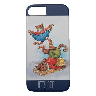 Cute Customizable iPhone7 Case - Louis Wain's Cats