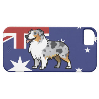 Cute Customizable Pet on Country Flag iPhone 5 Case
