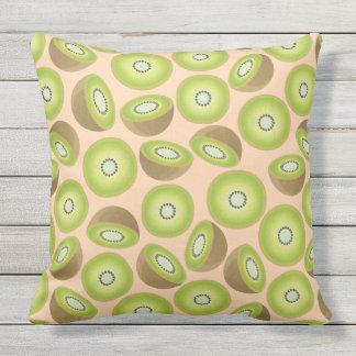 Cute Cut Kiwi Pattern Outdoor Pillow